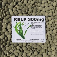 SEA KELP (300mg)  365 Tablets  One or two per day     (L)
