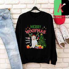 Merry Woofmas Teddy Bear Schnoodle Reindeer Christmas Sweatshirt Gift Xmas 2020