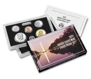 2021-S Silver Proof Set US Mint (21RH)