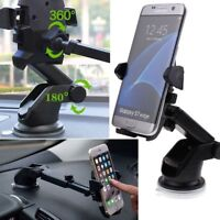 Universal Windshield Mount Car Holder Cradle For Apple iPhone X/6/6S/7/8 or Plus