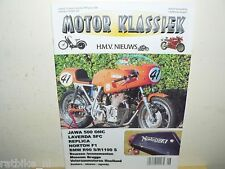 MOTOR KLASSIEK 1999-06 LAVERDA 750 SFC, NORTON F1,JAWA 500 OHC,BMW R90S,R100RS