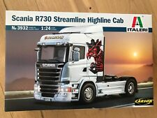 +++ Italeri 1:24 SCANIA R730 Streamline Highline Cab  3932
