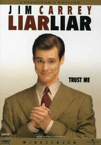 Brand New WS DVD Liar Liar Jim Carrey Maura Tierney Jennifer Tilly Justin Coo