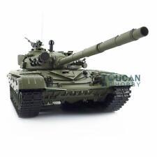 Us Stock 6.0 Plastic 3939 Henglong T72 Steel Gearbox 360° Main Battle Tank 1/16