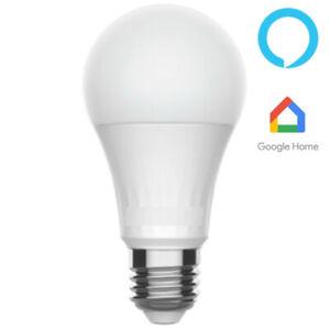Bombilla Smart Led Warm White   Regulable con Móvil   Google Alexa   Smart Life