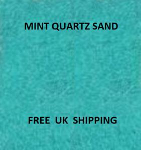 MINT Coloured Quartz Sand ART Crafts Wedding Floristry Artist Decor Aquarium