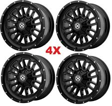 20 BLACK WHEELS RIMS 6X139.7 6X5.5 AX203 FUEL XD RHINO METHOD