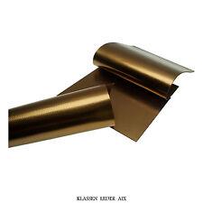 cuir de vachette 2,4 mm d'épaisseur A3 Pièce Bronze Métallisé véritable 74