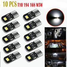 10X 6000K Canbus 2825 T10 168 194 W5W Dome License Side Marker LED Light Bulb RY