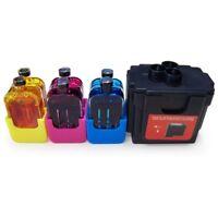 DIY Ink Refill Kit for HP 63 Tri-Color Cartridge Officejet 3830 3831 3833 4650