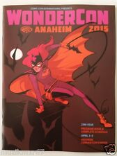 WonderCon 2015 Souvenir program Batwoman art cover by Babs Tarr