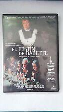 "DVD ""EL FESTIN DE BABETTE"" GABRIEL AXEL"