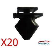 20x Peugeot 406 Moldura De Plástico Clips-parachoques, Motor De Escudos, Bandejas, Terminaciones Y Forro