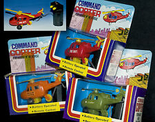 COMMAND COPTER | SET MIT 3 ELEKTRO HUBSCHRAUBER HELICOPTER OVP > ACTION FIGURES