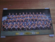 CARLTON TEAM PHOTO OFFICIAL 1998 BRAND NEW IN SEALED ENVELOPE