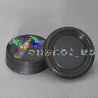 Camera Body Lens+Rear Cover Cap For Nikon D5100 D7000 D5000 D3100 D90 D80 DSLR