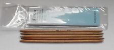 "New Surina 7""  Wood DP Knitting Needles size 9"