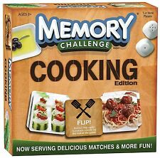 Cooking Edition MEMORY CHALLENGE New 2012 Price Reduced 8+ Boys Girls Usaopoly