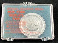 1964-1965 New York World's Fair Official Souvenir Medal Unisphere Token New NOS