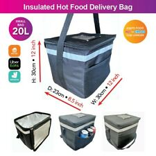 More details for hot food delivery bag - 20l - brand new fully insulated - uber eats delivery bag