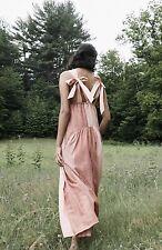 NEW Free People Joyel Striped Midi Dress Size Large