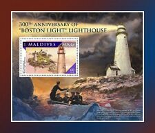 Maldiven / Maldives - Postfris/MNH - Sheet Lighthouses 2016