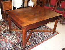 French Antique Oak Louis XV Draw Drop Leaf Dining Room Gateleg Kitchen Table