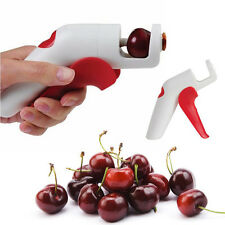 Cherries Pitter Kitchen Gadgets Tools Fast Remove Cherry Seed Fruit Hand Held