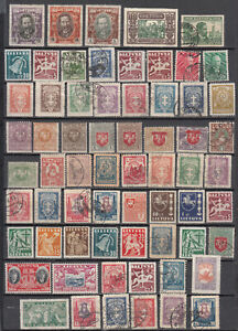 Lithuania - small stamp lot