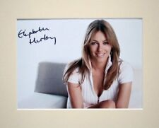 "ELIZABETH LIZ HURLEY AUSTIN POWERS PP 10X8"" MOUNTED SIGNED AUTOGRAPH PHOTO PRINT"