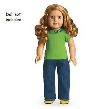 American Girl MYAG School Days Outfit for Dolls + Charm  Brand NEW in Box