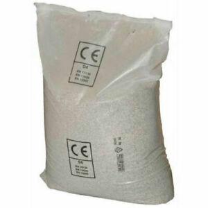 Sabbia Quarzifera Microperlata 0,4-0,8 mm Sacco 25 kg per Filtro Pompe Piscina