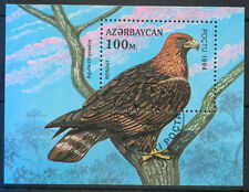 Azerbaijan 1994 Birds: Golden Eagle MS miniature sheet fine used