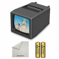 LED Lighted Illuminated 35mm Slide Viewer(2AA Batteries Included)…