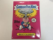 2014 Garbage Pail Kids Calendar with 4 Exclusive Lost Bonus Cards - Sealed