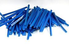 LEGO exponer Raíles 4,5V Tren Vías Azul Recto CURVA liso estriado