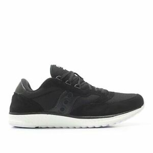 Saucony Originals Freedom Runner Black White Running Men Shoes New S40013-1