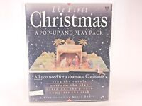 Good! The First Christmas: A Pop-Up and Play Pack: by Meryl Done (HC)