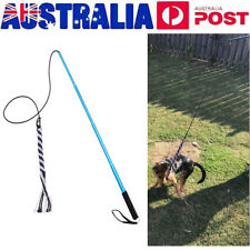 BEST Wand Rope Interactive Dog Pet Toys Extendable Flirt Pole Training Toy