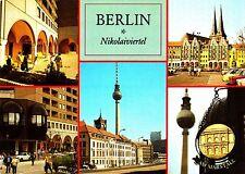 Berlin , Nikolaiviertel ( DDR )  , Ansichtskarte ; ungelaufen