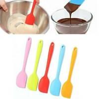 1X Baking Spatula Mini Small Silicone Spatula Heat Reistant Icing Spoon Scraper
