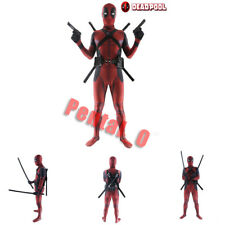 Adult Kids Child Deadpool Cosplay Superhero Costume Jumpsuit Spandex Zentai Suit