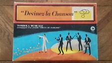 Jeu Vintage « Devinez La Chanson ? » Tombola Musicale Rare Voir Introuvable