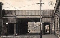 POSTCARD   MANCHESTER   Water  Street   Railway  Bridge