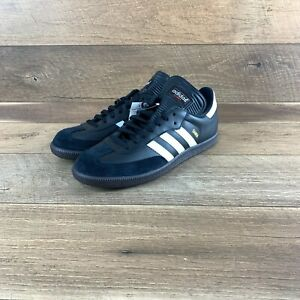 NIB Adidas Samba Classic Black Athletic Indoor Soccer Shoe 034563 Men's 11 US