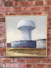 "Belfast Maine Artist Dennis Pinette Original Oil Painting. ""Big Boy"" 1993 Signed"