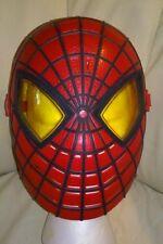Spiderman Talking Mask Light-Up Eyes Halloweeen Kids Marvel Avengers