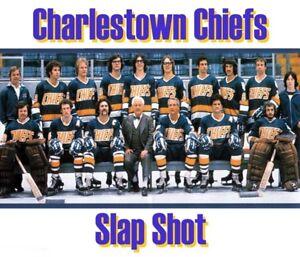 1977 Slap Shot Charlestown Chiefs The Hansons Team Pic 8 X 10 Photo