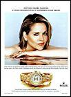 2002 Rolex Oyster Perpetual Lady Watch Renée Fleming opera photo print ad ads24