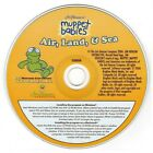 Muppet Babies Air, Land & Sea (Ages 2-5) (PC-CD, 2006) Windows -NEW CD in SLEEVE